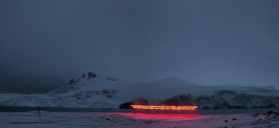 Fernando Prats, Gran Sur, still de video, Chile, 2011. Dirección y Fotografía: Enrique Stindt. Cortesía del artista