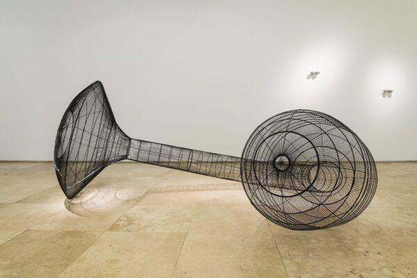 """Vista de la exposición """"Otras Periferias"""", de Cristián Salineros, en Galería Patricia Ready, Santiago de Chile, 2015. Foto: Benjamín Matte"""