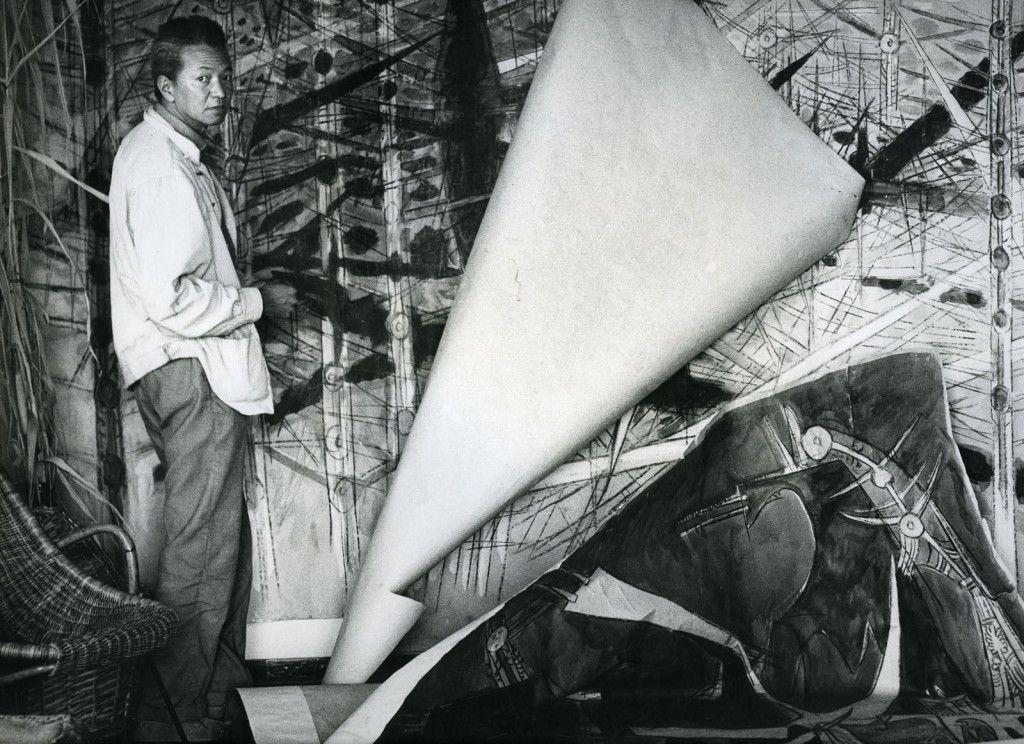 1963-2-Portrait-de-lartiste-à-Albissola-Archives-SDO-Wifredo-Lam-1600x11621004