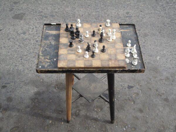 Abandoned-Chessboard
