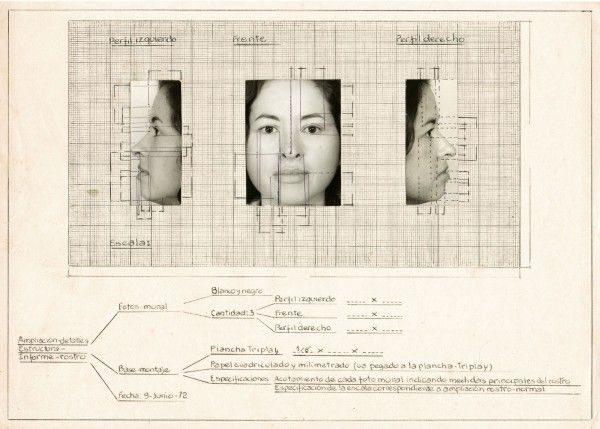 Teresa-Burga.-Collage-a-modo-de-boceto-para-Autorretrato-1972-600x429