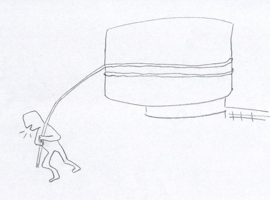 Una-cuerda-y-una-carga-Dibujo1113