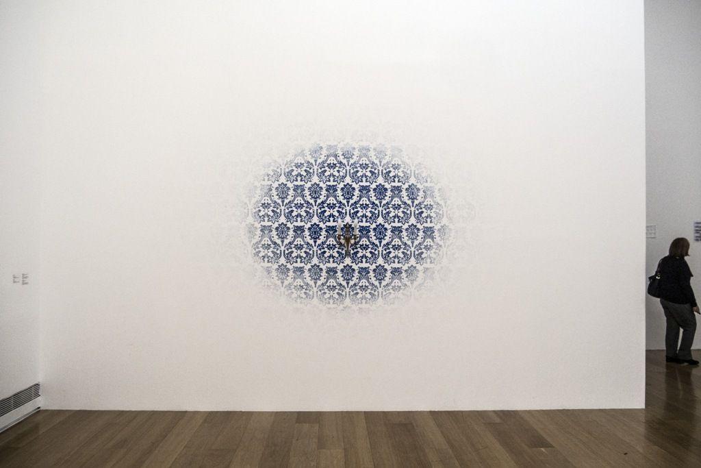 Jorge Macchi, vista de la exposición en el MALBA, 2016. Foto: Mariella Sola / Artishock