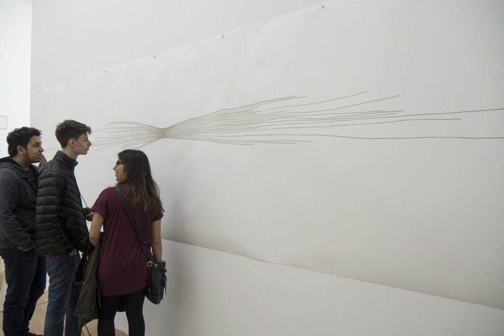 Jorge Macchi. Vista de la exposición en MALBA, 2016. Foto: Mariella Sola / Artishock