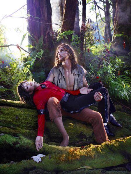 David LaChapelle, American Jesus: Hold Me, Carry Me Boldly 2008-2011, impresión cromogénica ©David LaChapelle
