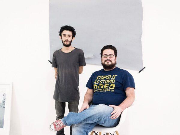 Gestores/fundadores de S1. A la izq.: Diego Sagastume. A la der.: Gabriel Rodríguez. Foto: Andrés Vargas