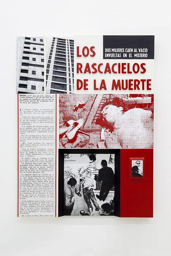 """Vista de la exposición """"Ahí"""", de Leonardo Portus, en Die Ecke Arte Contemporáneo, Santiago, 2016. Foto: Jesús Monteagudo"""