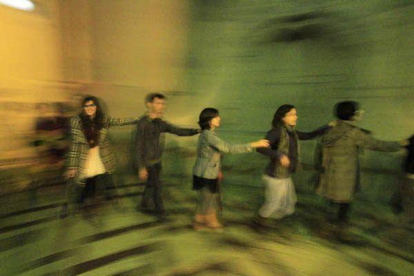 8ª Bienal do Mercosul      Casa M    17/06/2011 Oficina Paisagens Cambiantes: coletividade, estratégias de participação e intervenção em espaços públicos - Paola Santocoy Foto: Cristiano Sant´Anna/indicefoto.com