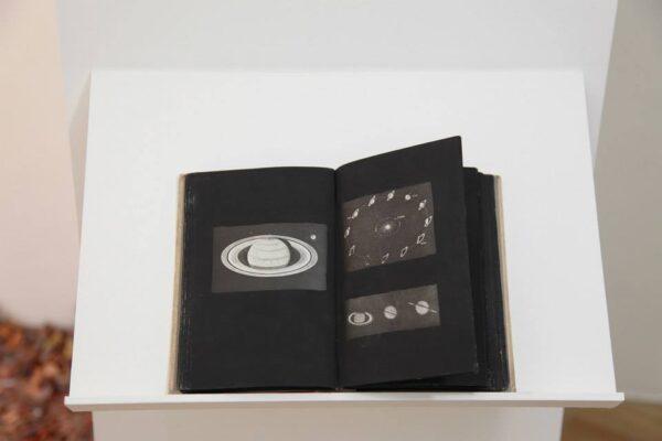 Rodrigo-Arteaga-Our-Wonderful-Universe-2014-Artist-book-Astronomy-book-painting-135-x-195-cm