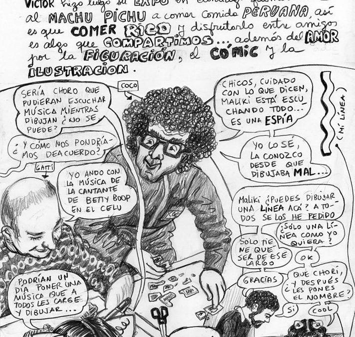 MALIKI EN ARTISHOCK GABINETE DE DIBUJO | Artishock Revista
