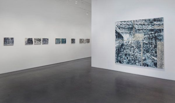 """An image from Jorge Tacla's """"Hidden Identities"""" installation at Cristin Tierney gallery in Chelsea."""