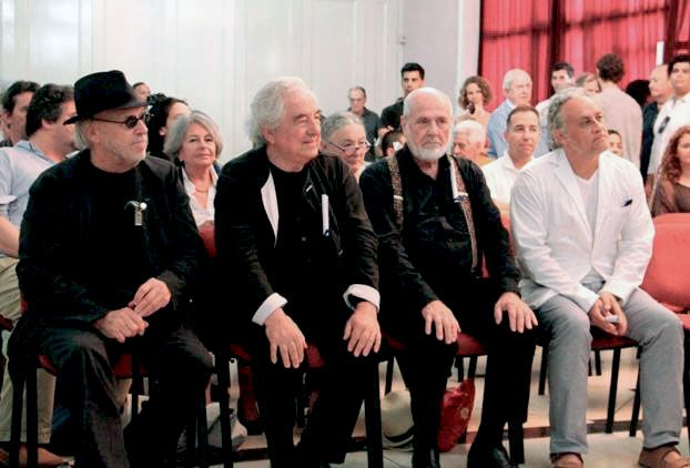 KOSUTH, PISTOLETTO, BUREN Y OROZCO, DOCTORES HONORIS CAUSA EN CUBA