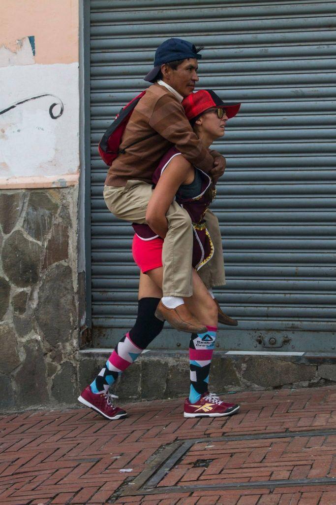 María José Machado (Cuenca, 1984) Ernesto, 2014, documentación de performance. Foto: Juan Montelpare