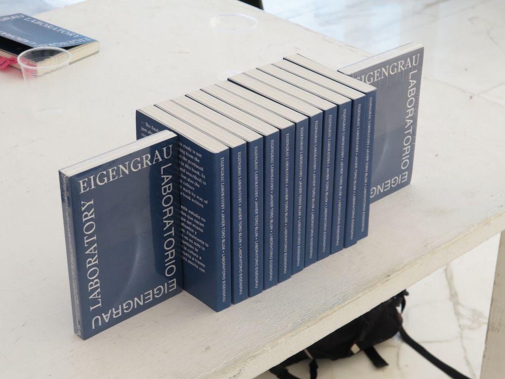 Laboratorio Eigengrau, publicación de Javier Toro Blum por Ediciones Daga.