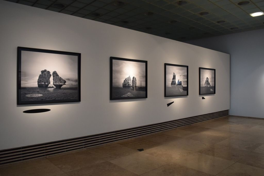 Matilde Marín, vista de la exposición Paisajes Indeterminados, Galería Patricia Ready, Santiago de Chile, 2016. Cortesía: galería Patricia Ready