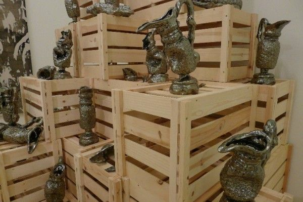 Here is where we jump la bienal del barrio artishock for Arce ceramicas