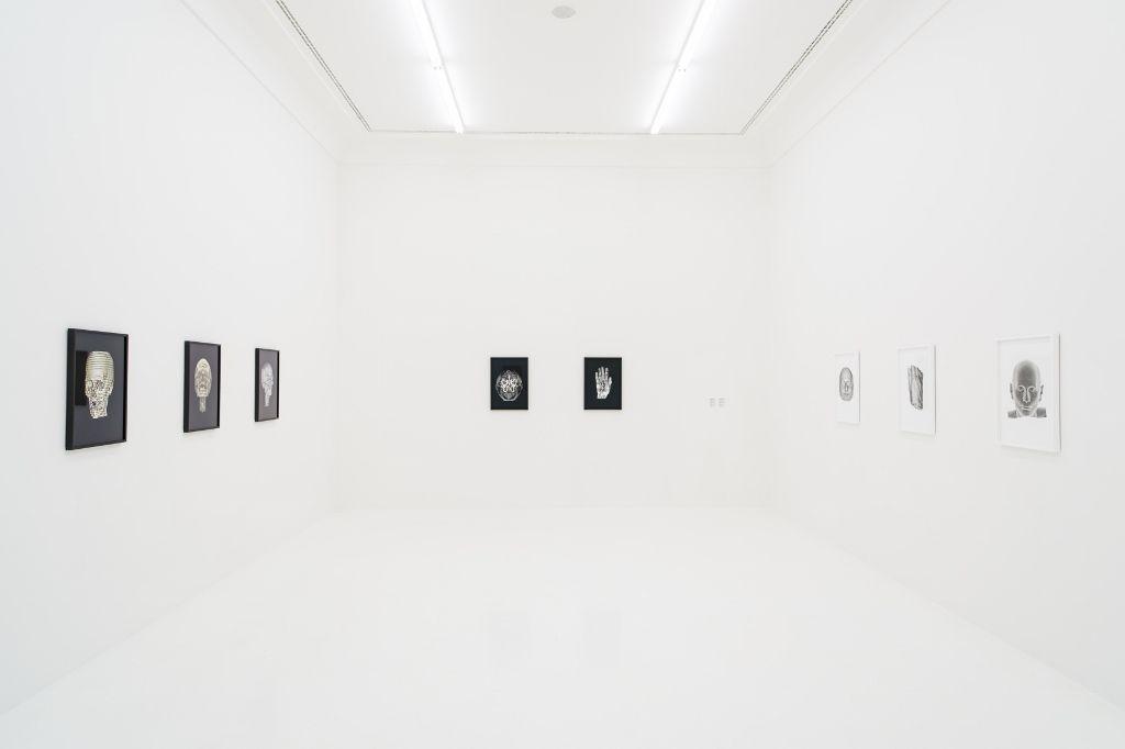 Michel Houellebecq, Matière, vista de la exposición en Helmhaus, Zürich. Foto: (c) Manifesta11/Eduard Meltzer