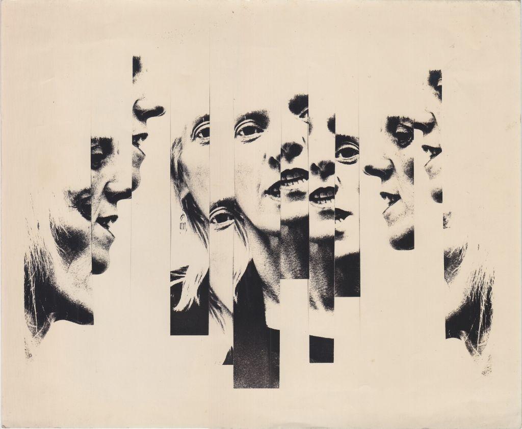 Marta Minujín, Sin título, c. 1980-1985, Fotografía blanco y negro, 25 x 30,5 cm. Cortesía: HFFA