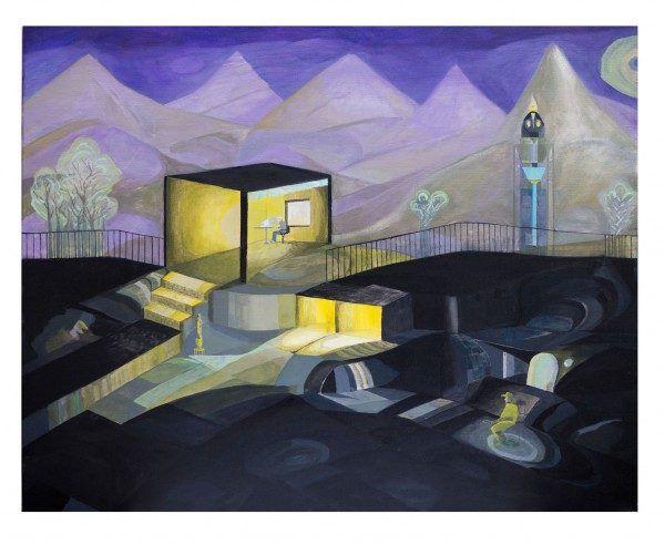 El-escritor-oculto-oleo-sobre-tela-2012-600x492