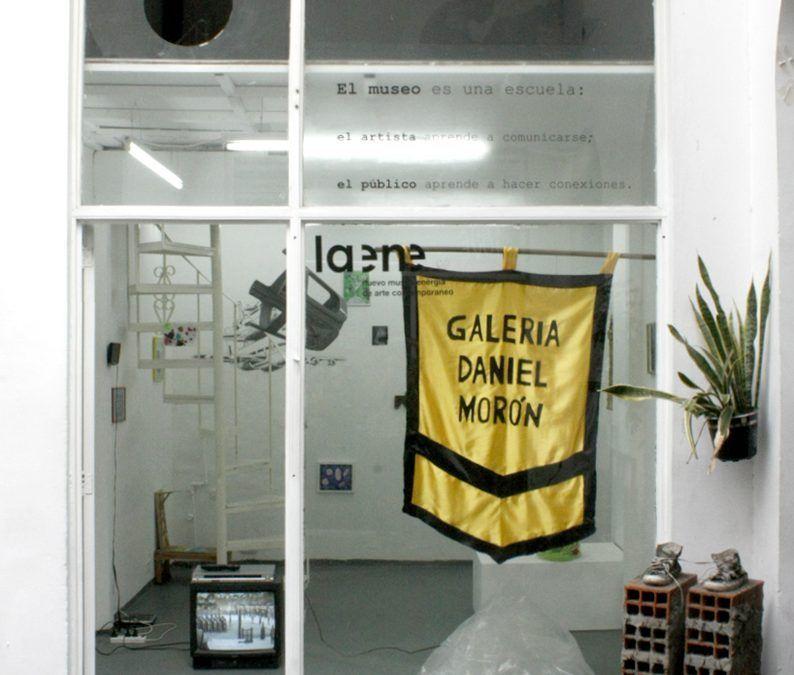 CLUB DE VIAJEROS EN EL TIEMPO: GALERÍA DANIEL MORÓN EN EL MUSEO LA ENE