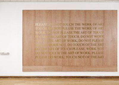 Raqs Media Collective, Por favor no tocar la obra de arte. Cortesía de la bienal