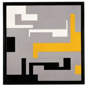 WILLYS DE CASTRO, Composición Modulada, 1954. Colección MoMA. Donada por Patricia Phelps de Cisneros