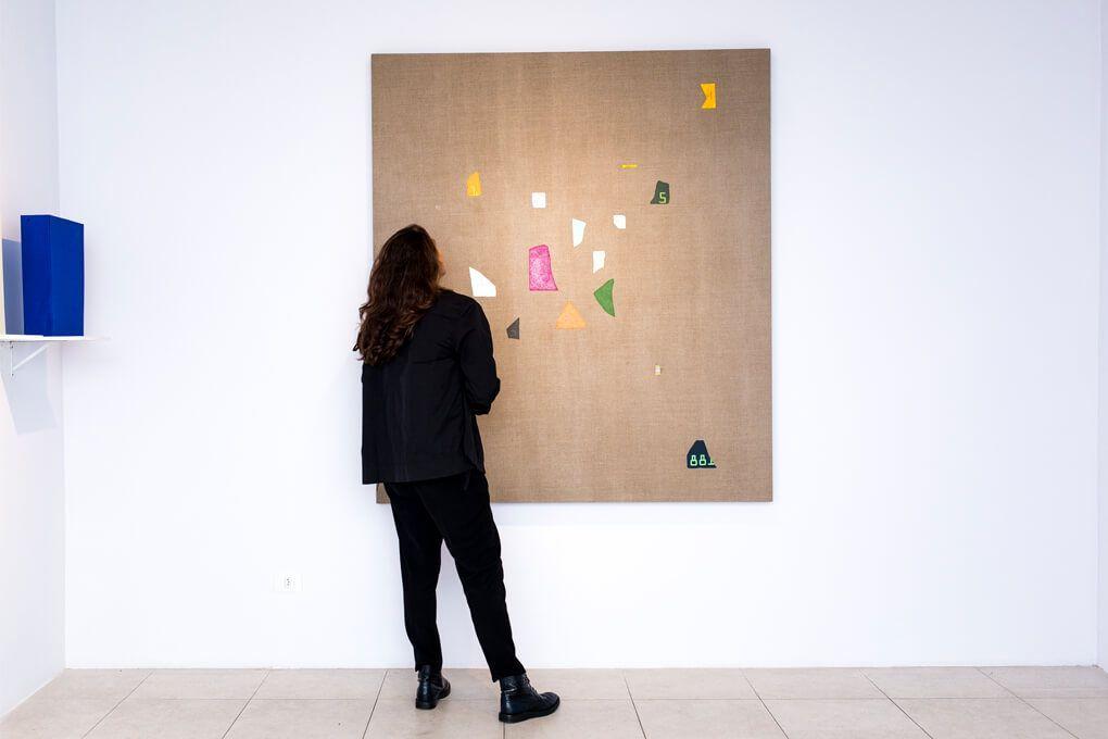 Ignacio Gatica, parte de la muestra Midnight - Amanhã en Casa Nova Arte, Sao Paulo, Brasil, 2016. Cortesía del artista