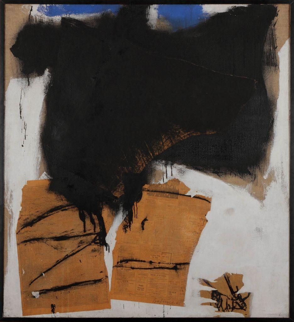 José Balmes, Sin título (de la serie Santo Domingo). 1965. Cortesía: Colección MAC