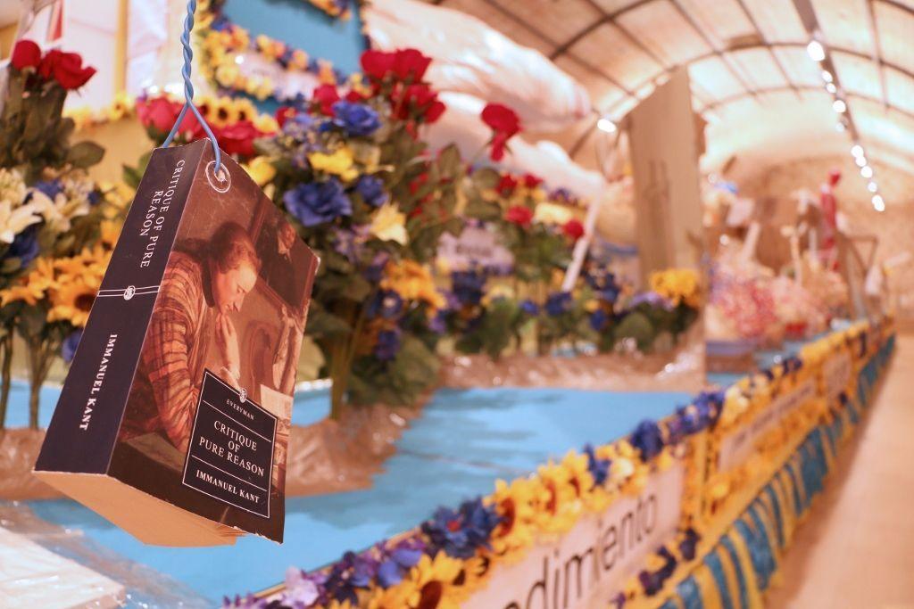 Thomas Hirschhorn, Equality Float, 2008. Cortesía de la Galerie Chantal Crousel, París. © de la obra, Thomas Hirschhorn, 2016. © de la foto, Es Baluard Museu d'Art Modern i Contemporani de Palma, España.