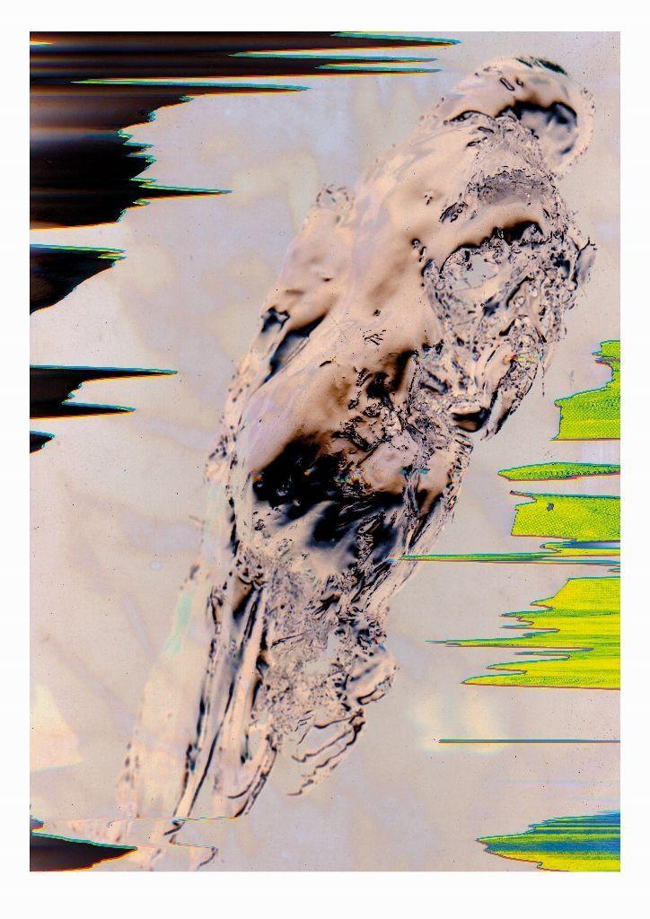 Raimundo Edwards, parte de la muestra El centro de la Tierra, en Galería Metales Pesados Visual, Santiago de Chile, 2016. Cortesía del artista