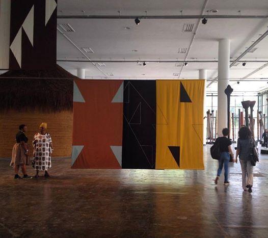 Felipe Mujica, Las universidades desconocidas, 2016. Vista de la instalación en la 32° Bienal de Sao Paulo. Cortesía del artista