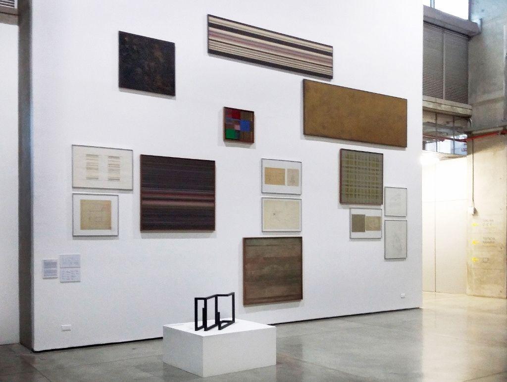 Carlos Rojas. Selección de obras. Hall Museo de Arte Moderno de Medellín. Fotografía: Úrsula Ochoa
