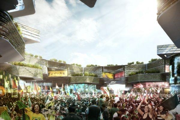 Imagen de referencia para Border City, propuesta de México para la Bienal de Diseño de Londres, 2016. Cortesía de la Bienal