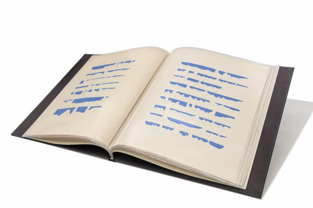 Mirtha Dermisache. Libro N°6, 1971. Cortesía: Colección MALBA