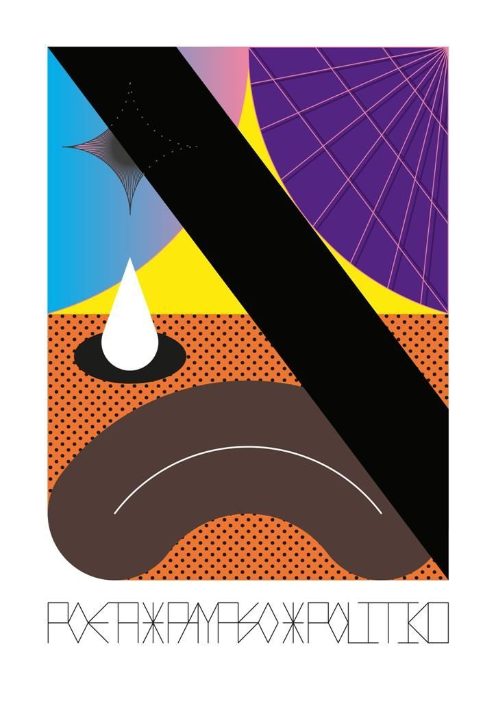 Rodrigo Canala, Poeta, Payaso, Politiko, 2016, impresión inkjet sobre papel de algodón, 29,5 x 21 cm. Cortesía del artista/Artishock