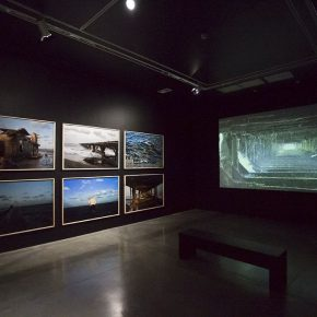 María Isabel Rueda. Osucro Diario. Vista de la muestra. Museo de Arte Moderno de Medellín, Colombia, 2016. Foto cortesía de la artista.