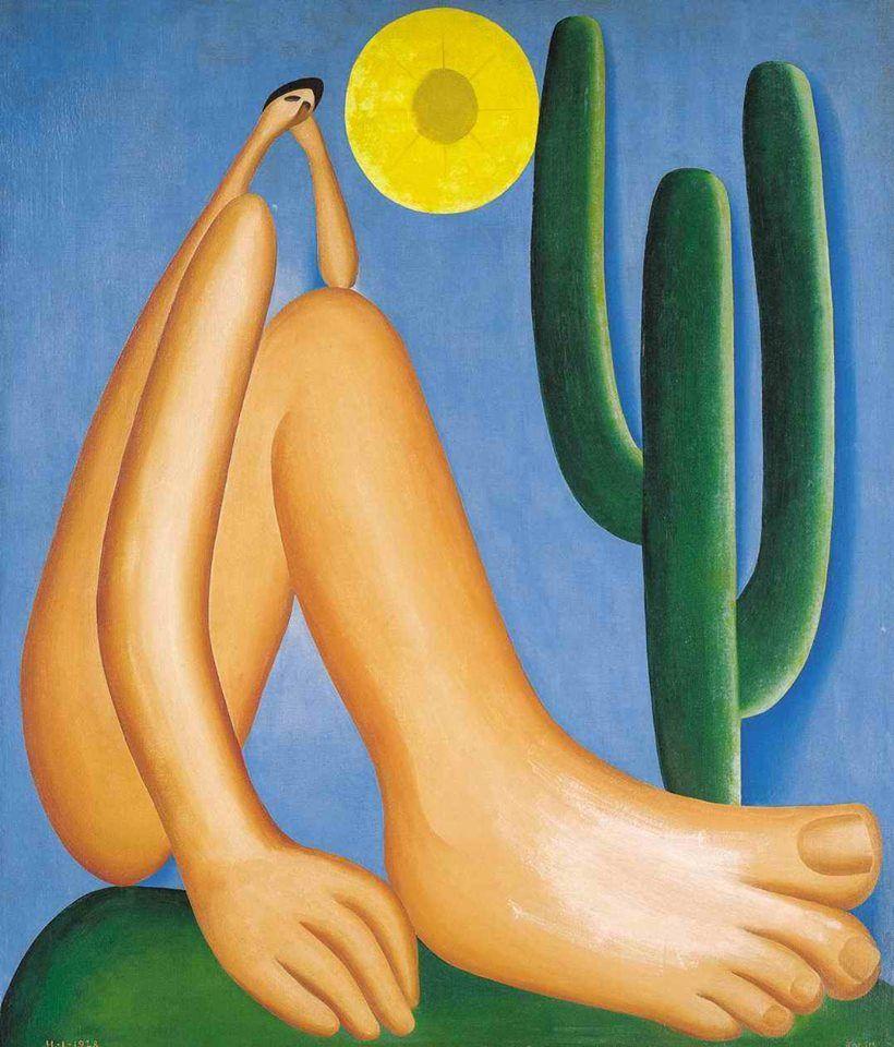 Tarsila do Amaral, Abaporu, 1928. Cortesía: Colección MALBA