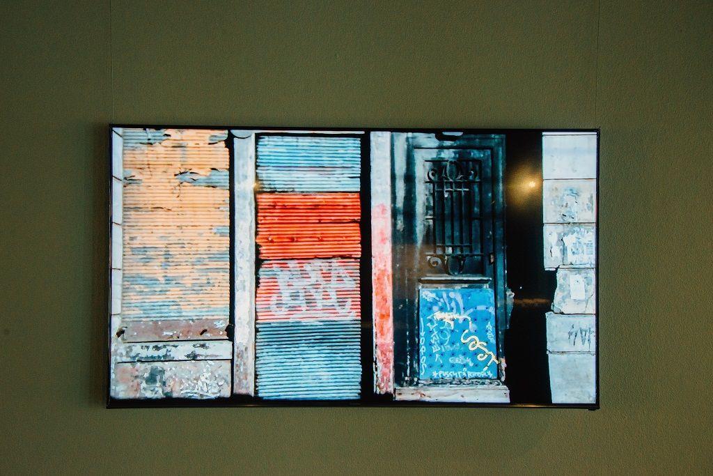 Carlos Silva. La O / Capítulo Avenida Argentina. Parte de la muestra Post-Panamax. Sala de Arte Las Condes, Santiago de Chile, 2016. Foto cortesía del artista.