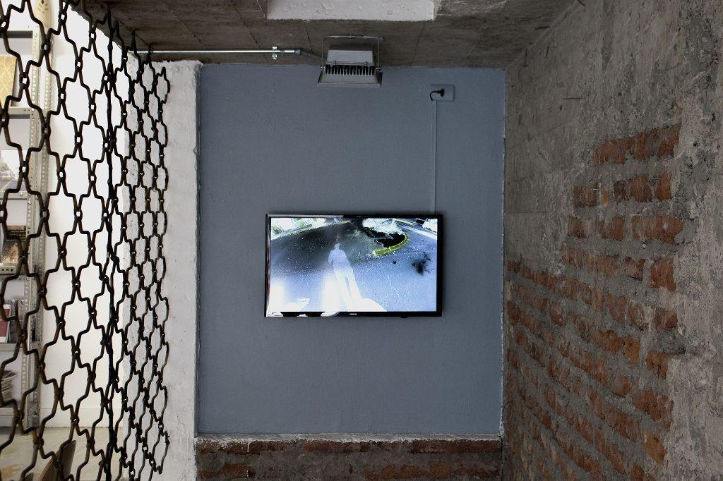 Raimundo Edwards. El Centro de la Tierra. Vista de la muestra. Galería Metales Pesados Visual. Santiago de Chile, 2016. Foto cortesía del artista.