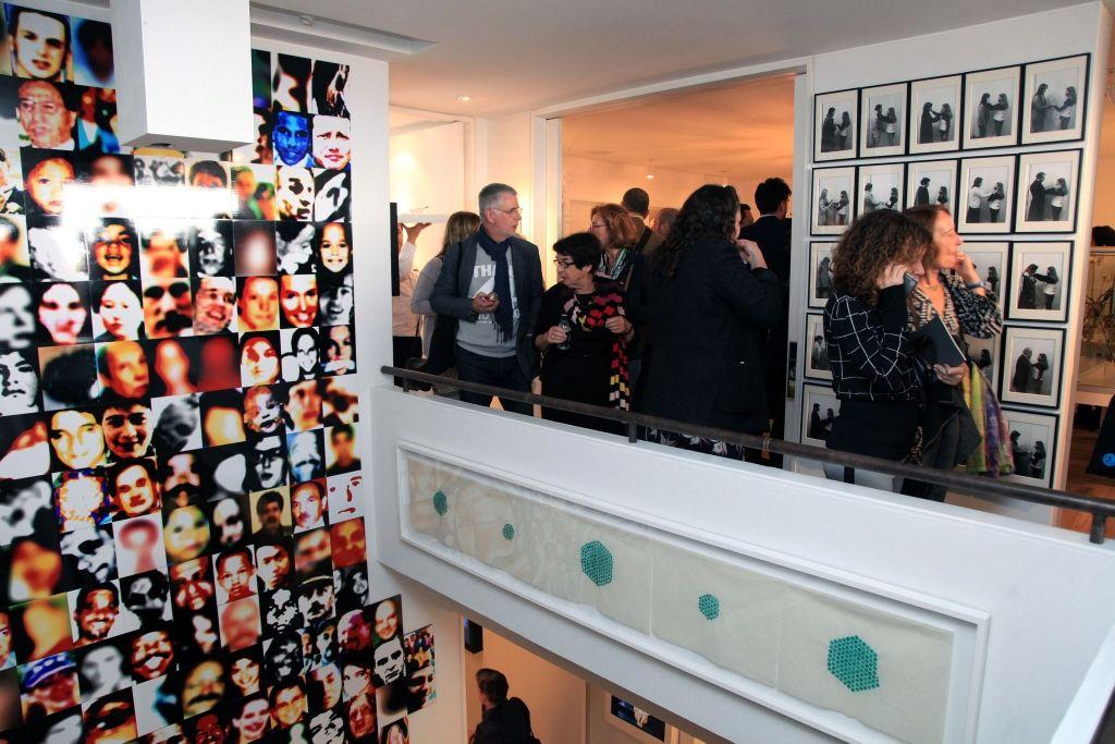 Visita a la colección Bar-on, Bogotá, como parte del programa VIP. ARTBO 2016. Foto: © Cámara de Comercio de Bogotá / 48 por segundo -Todos los Derechos reservados