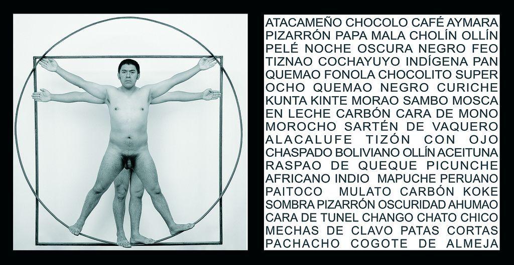 Bernardo Oyarzún, Proporciones de cuerpo. Cortesía del artista
