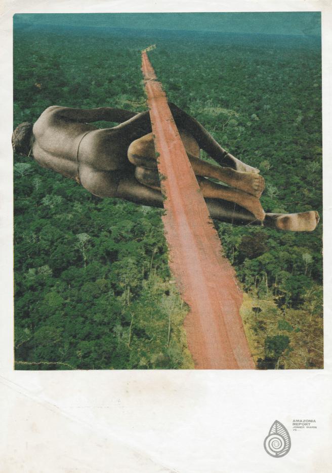 Jonier Marin. Parte de la muestra: Amazonia Report. FLORA ars+natura, Bogotá, Colombia, 2016. Imagen cortesía del artista.
