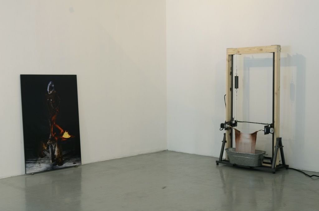 Adolfo Martínez. La gente es la misma. Vista de la muestra. Galería Gabriela Mistral, Santiago de Chile. 2016. Foto cortesía del artista.
