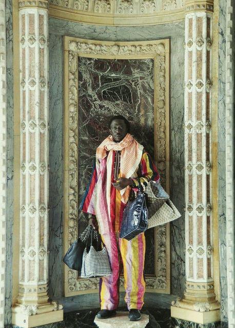 Kiluanji Kia Henda. The Merchant of Venice. 2010. Parte de la muestra: Kabbo ka Muwala. Städtische Galerie Bremen, Alemania, 2016. Foto cortesía Städtische Galerie Bremen