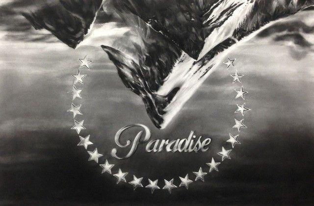 Gonzalo Fuenmayor, Paradise, 2014, carboncillo sobre papel. Cortesía del artista