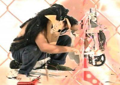 Fernando Palma, Si no fuera por estos momentos, 2000, DVD, 00:08:48. Foto cortesía de la galería