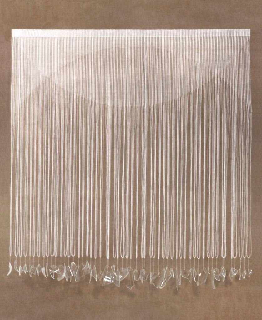 Vivian Caccuri, Transparente, 2015, película protectora, acrílico y vidrio, 113 X 120 cm. Cortesía: Art Toronto