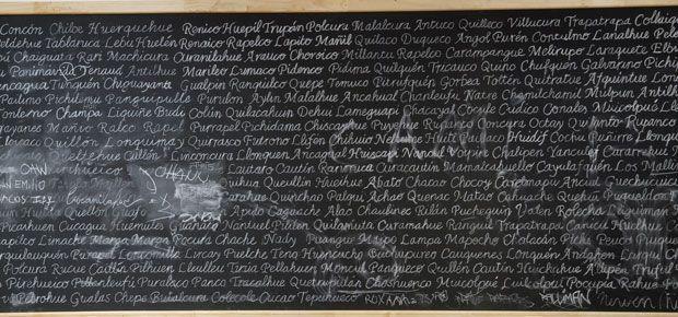 Bernardo Oyarzún (1963) representará a Chile en la 57° Bienal de Venecia con Werken, un proyecto que trabaja la aparición/ocultamiento del sujeto mapuche, bajo la curaduría de Ticio Escobar (Paraguay, 1947). Render cortesía de Ticio Escobar y Bernardo Oyrazún/CNCA