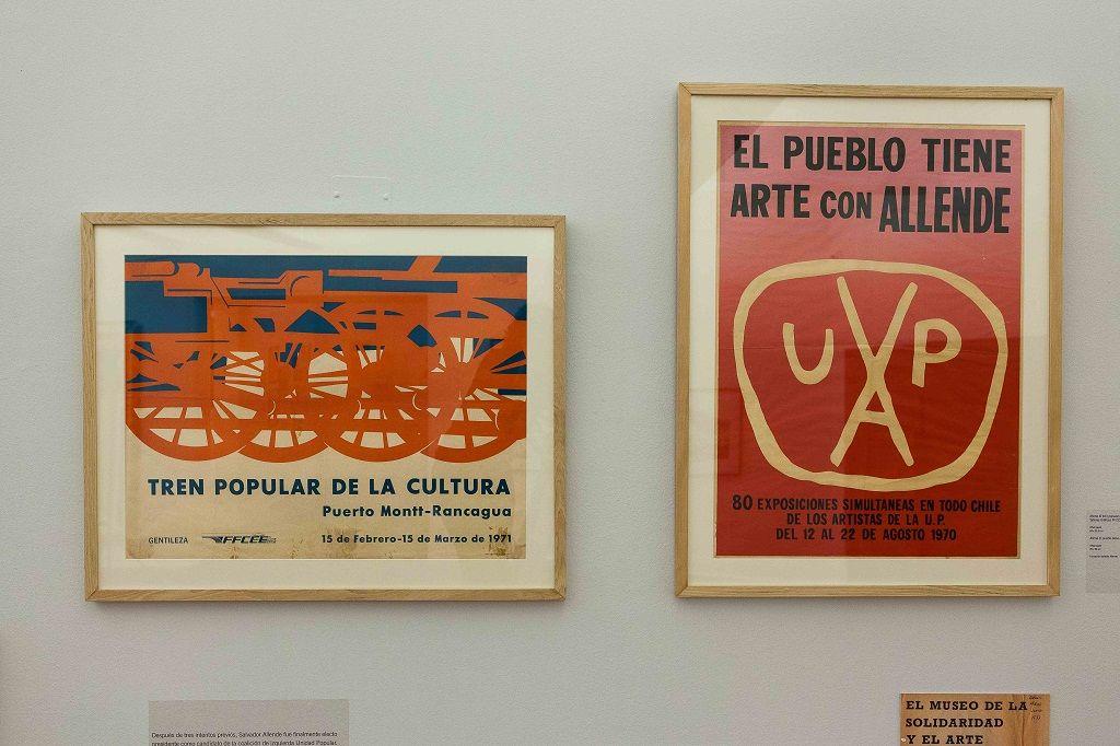 A los artistas del mundo… El Museo de la Solidaridad Salvador Allende, México/Chile 1971-1977. Vista de la muestra. MSSA, Santiago de Chile, 2016. Foto gentileza MSSA.