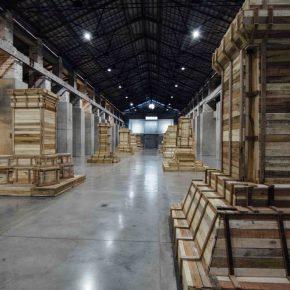 Juan Fernando Herrán. Héroes Mil. Vista de la muestra. Museo de Arte Moderno de Medellín (MAMM), Colombia. 2016. Foto gentileza MAMM.